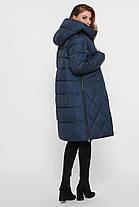 Длинная ОЧЕНЬ ТЕПЛАЯ И УДОБНАЯ куртка зимняя розовая на биопухе, размер 42-50, фото 3