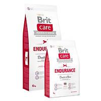 Brit Care Endurance Duck & Rice Корм для дорослих активних собак з качкою і рисом / 12 кг