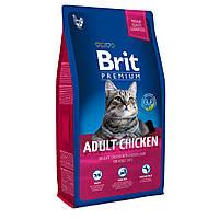 Brit Premium Adult Chicken Сухий корм для кішок з куркою / 8 кг