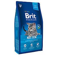 Brit Premium Kitten Сухой корм для котят / 1,5 кг
