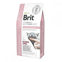 Brit GF Veterinary Diet Cat Hypoallergenic Лікувальний корм для кішок гіпоалергенний / 2 кг