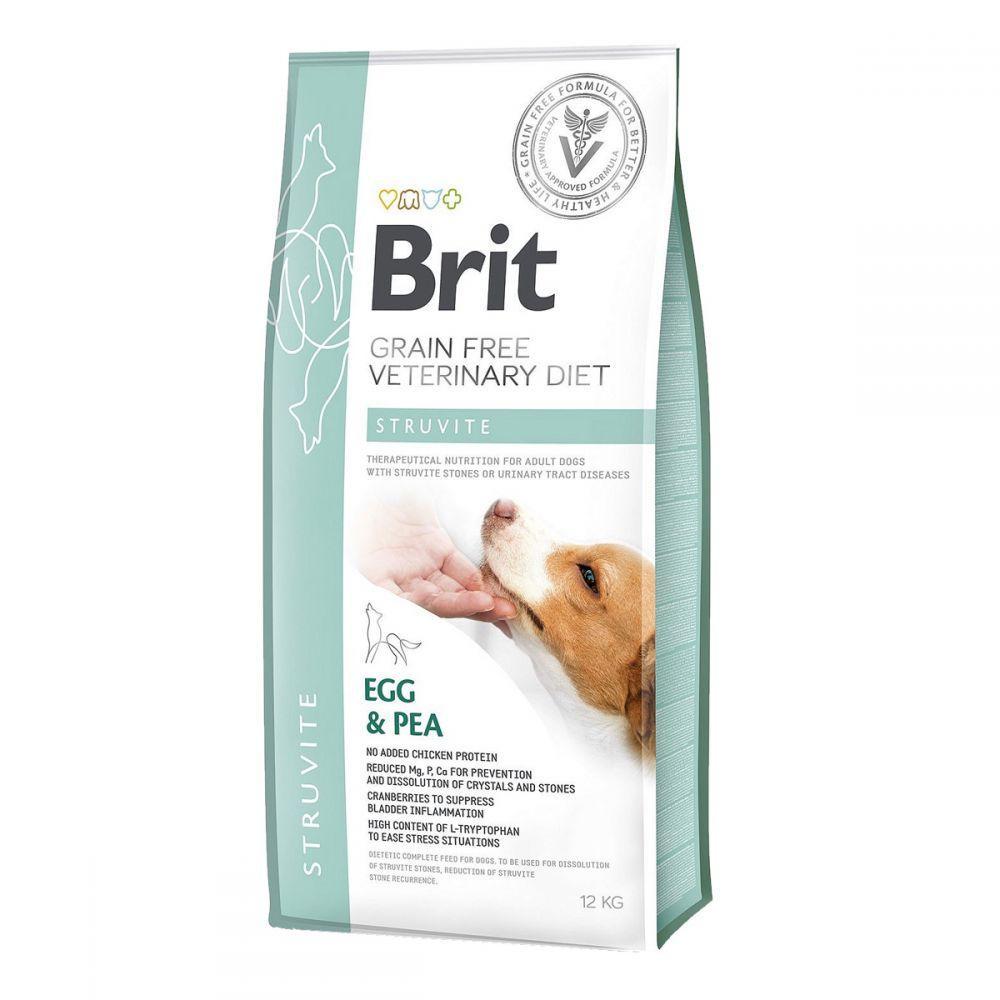 Brit GF Veterinary Diet Struvite Лечебный корм для собак при мочекаменной болезни / 12 кг