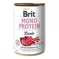 Brit Mono Protein Lamb Консервы для собак с ягненком / 400 гр