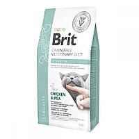 Brit GF Veterinary Diet Cat Struvite Лечебный корм для кошек при мочекаменной болезни / 2 кг