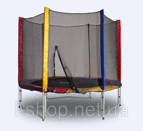 Батут KIDIGO™ 244 см. с защитной сеткой BT244, фото 2