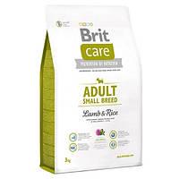 Brit Care Adult Small Breed Lamb & Rice Корм для взрослых собак мелких пород с ягненком и рисом / 7,5 кг