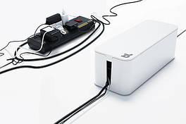 Органайзер для проводов огнестойкий Cablebox Mini Bluelounge (white)