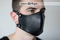 Мужская маска для лица, многоразовая маска, кожаная защитная маска для лица, маска от пыли