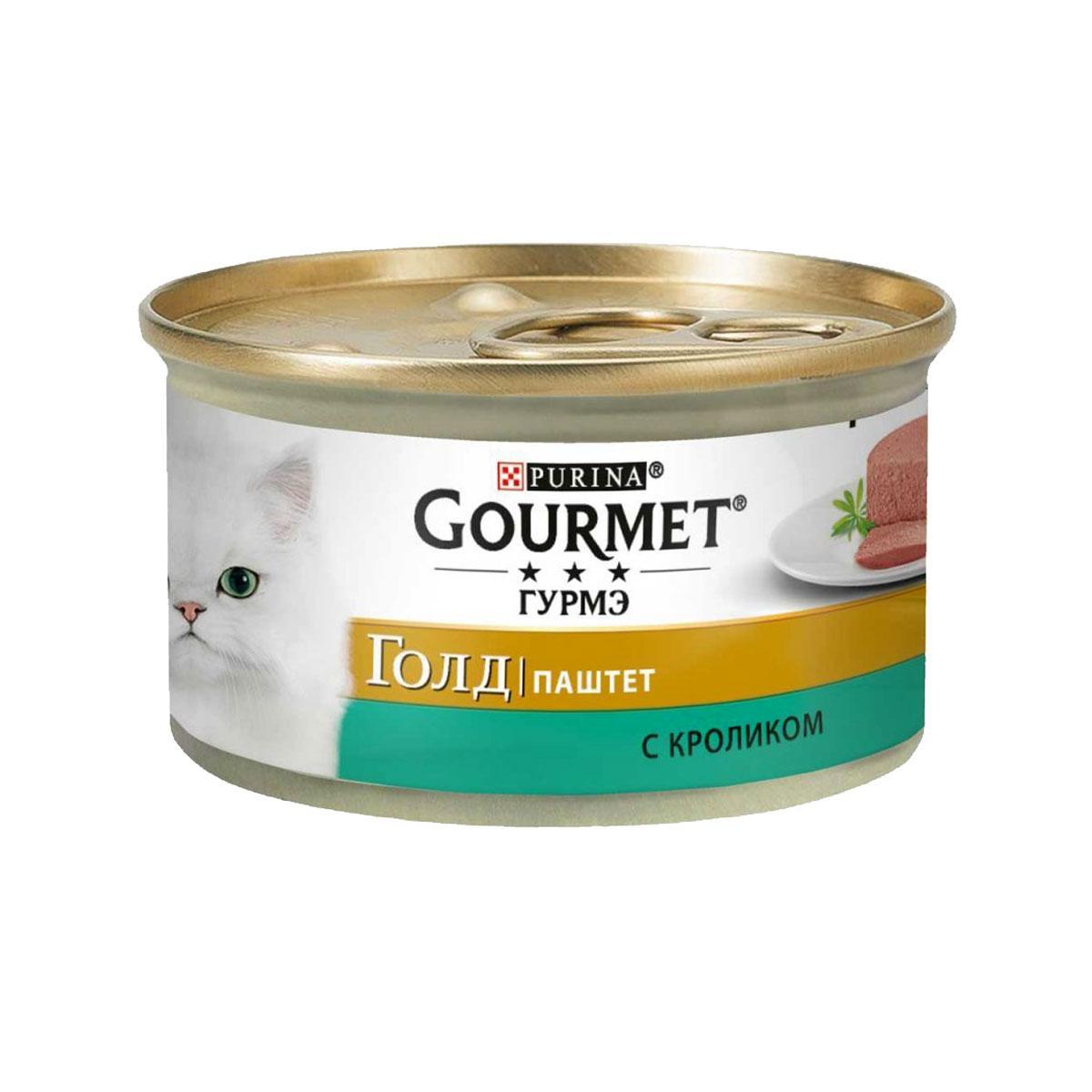Gourmet Gold (Гурмет Голд) паштет с кроликом 85г