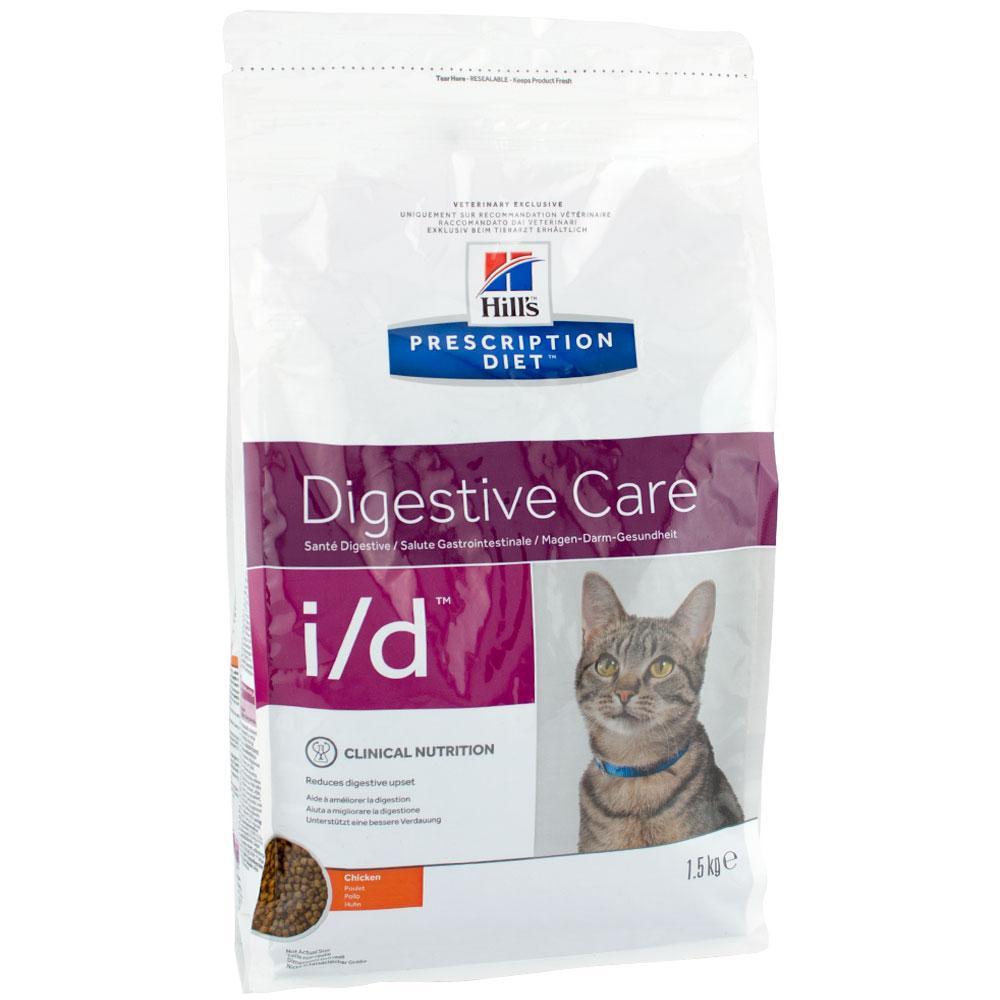 Hills Prescription Diet Digestive Care i/d Chicken Лечебный корм для пищеварения у кошек / 5 кг