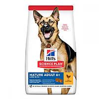 Hills Science Plan Large Breed Mature Adult 6+ Chicken Сухой корм для пожилых собак крупных пород с курицей /