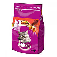 Whiskas Сухой корм для кошек с говядиной / 950 гр
