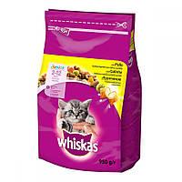 Whiskas Junior подушечки с кремовой начинкой для котят (с курицей) / 300 гр