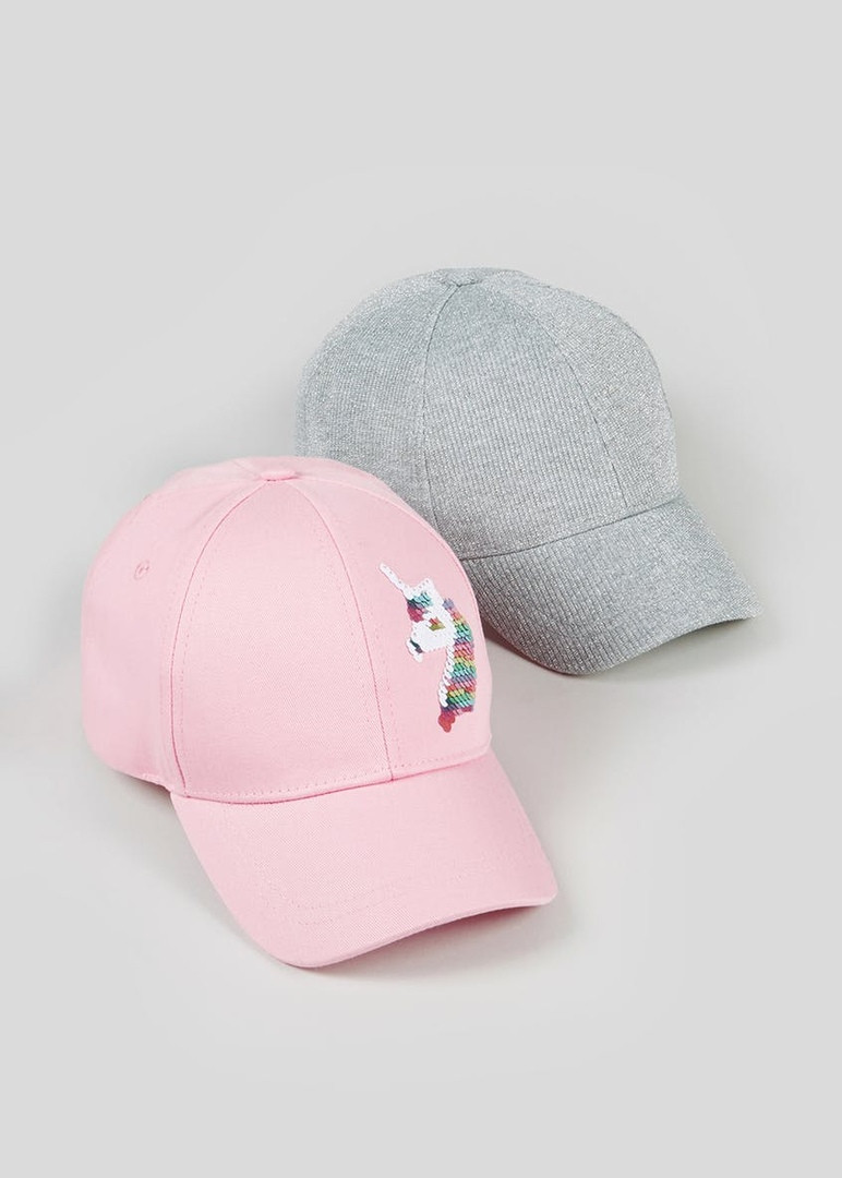 Детская летняя стильная кепка (бейсболка) Маталан для девочки (поштучно)