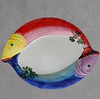 Блюдо сервировочное Рыбы 58 х 42 см