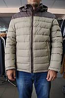 Куртка зимняя мужская SnowImage SICBM-V102-6228/Св.Беж