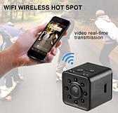 Мини экшн камера SQ13 Full HD видеокамера WIFI видеорегистратор