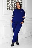 Спортивный костюм женский Турецкая двунитка Размер 48 50 52 54 56 58 60 62 64 В наличии 5 цветов, фото 5