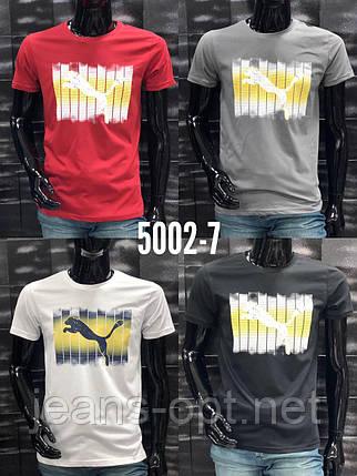 Чоловічі футболки брендові 5002-7, фото 2