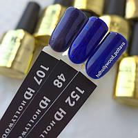 Гель лак 152 Классический Синий Плотный Гель-лаки  HD Hollywood
