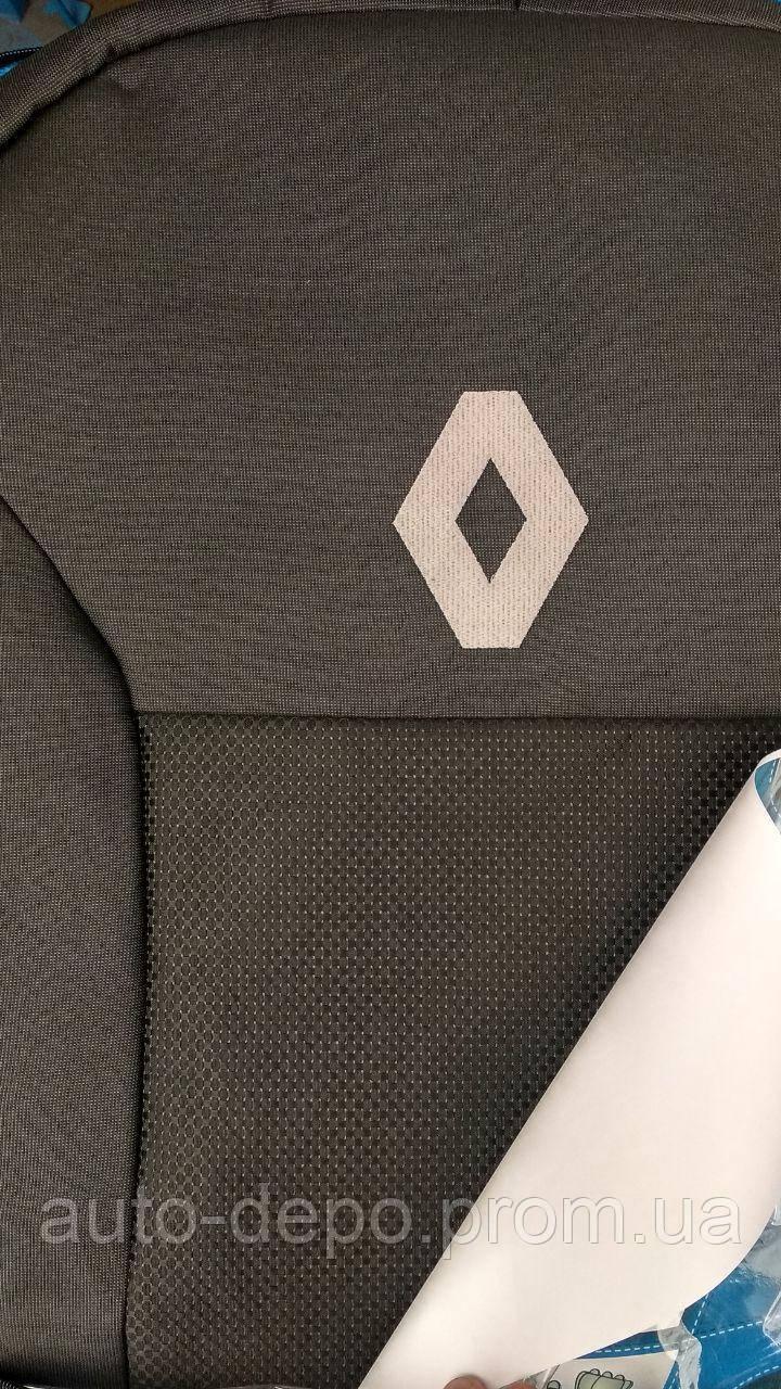Renault Duster 2018- Автомобильные чехлы (без пер/подлокотника)
