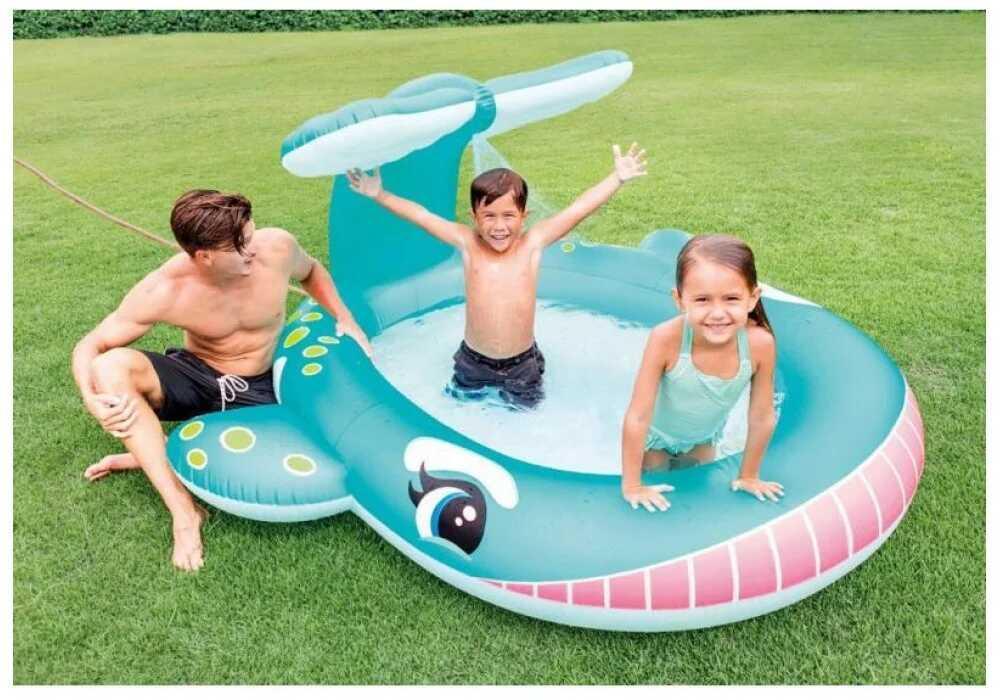 Детский надувной бассейн Intex 57440 201 см х 196 см х 99 см