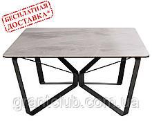 Стіл журнальний LUTON S 89,5х89,5х45 см кераміка світло-сірий Nicolas (безкоштовна доставка)