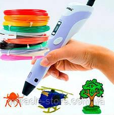 3D ручка MyRiwell с дисплеем 3D ручка для рисования пластиком, фото 2