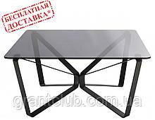 Стол журнальный LUTON S 90*90*45 см стекло дымка глянец Nicolas (бесплатная доставка)