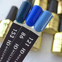 Гель лак 86 Классический Синий Цвет года Плотный Гель-лаки  HD Hollywood