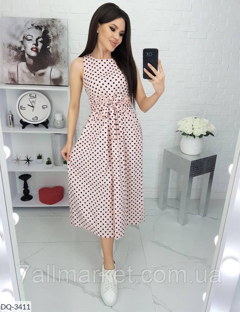 """Сукня жіноча модна модель: 823 (42, 44, 46, 48) """"VILADI"""" недорого від прямого постачальника"""