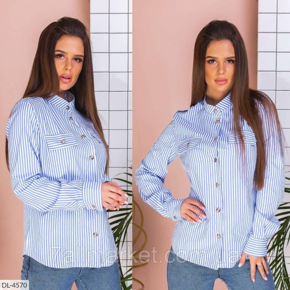 """Рубашка женская классическая арт.v274 (S, M, XL) """"REMISE STORE"""" недорого от прямого поставщика"""