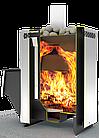 Дровяная печь для бани и сауны Теплодар Сахара 24 ЛНЗП профи с ГЛП, фото 2