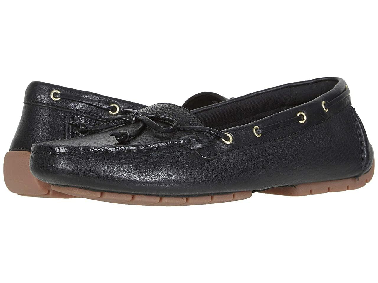Топ-сайдеры (Оригинал) Clarks C Mocc Boat Black Leather