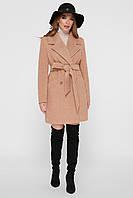 Женское пальто горчичного цвета  ПМ-132, фото 1