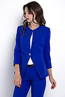 Пиджак женский, цвет: электрик, размер: 42, 44, 46, 48, 50, 52