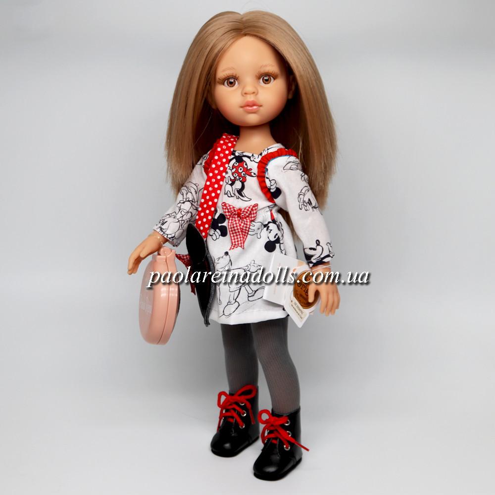 Кукла Паола Рейна Карла с ореховыми глазками Paola Reina