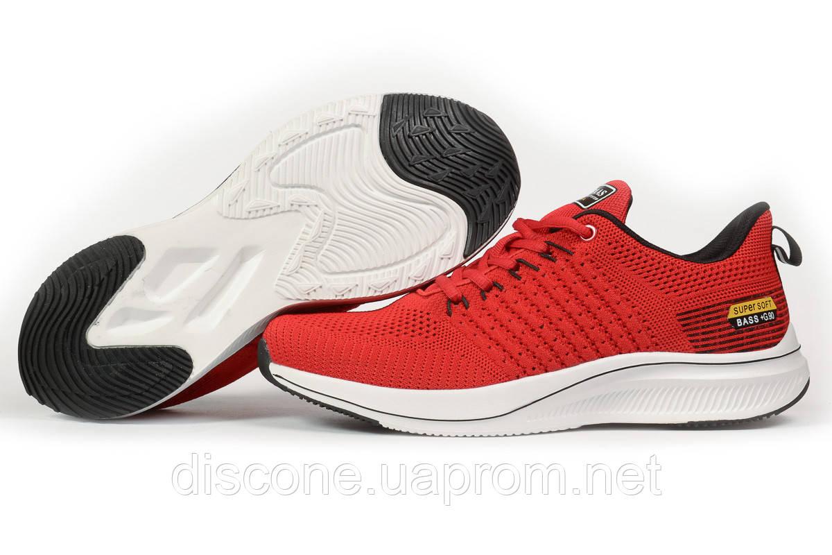 Кроссовки мужские 10335 ► BaaS Ploa Running, красные ✅Скидка 33% [ 44 46 ] ► (44-28,5см)