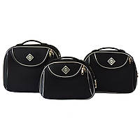 Сумка кейс саквояж 3в1 Bonro Style чорний