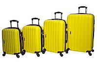 Валіза Siker Line набір 4 шт. жовтий
