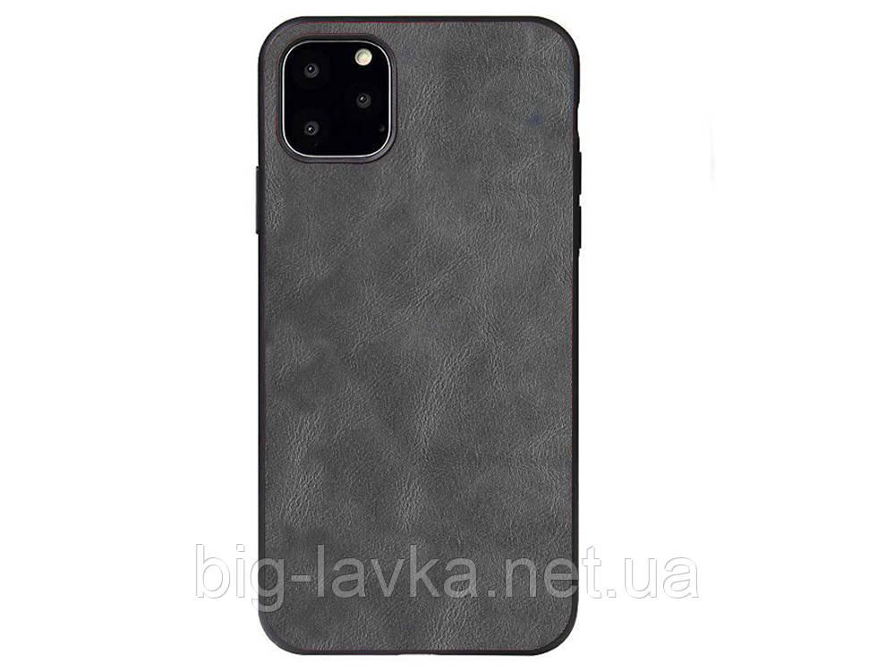 Чехол из искусственной кожи X Level для iPhone 11 Pro  Серый