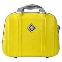 Сумка кейс саквояж Bonro Smile (великий) жовтий (yellow 613), фото 1