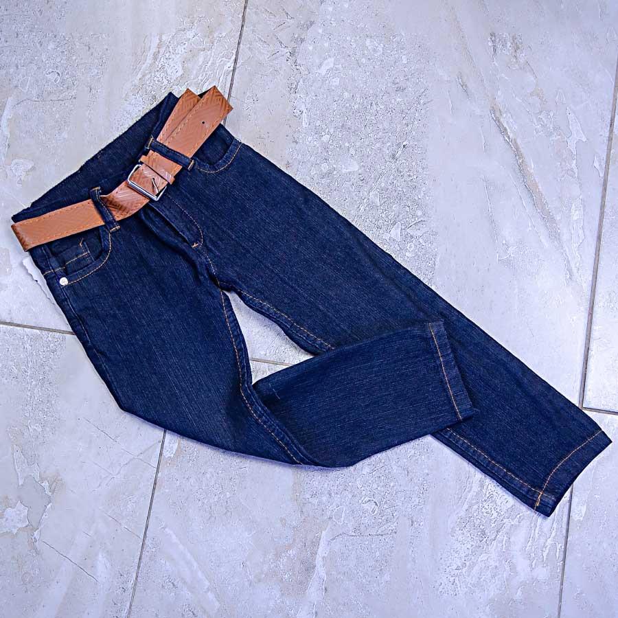 Джинсы демисезонные в комплекте с ремнем для мальчика, Cicik jeans