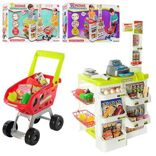 Детский игровой набор Магазин звуковые, световые эффекты 668-03 Star Toys Factor