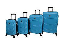 Чемодан Bonro 2019 набор 4 штуки голубой, фото 1