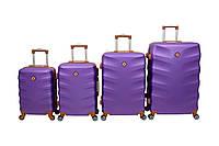 Чемодан Bonro Next набор 4 шт. фиолетовый, фото 1