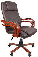 Крісло Bonro Premier O-8005 коричневе, фото 1