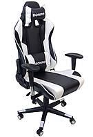 Кресло геймерское Bonro 2011-А белое, фото 1