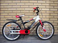 Детский двухколесный велосипед Azimut Stitch A 20 дюймов красный