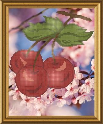 Схема для вышивки бисером Вишневий цвіт. Арт. СКМ-11